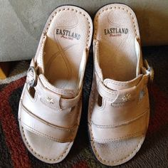 EASTLAND shoes EASTLAND shoes.   Worn once.  Very excellent condition EASTLAND Shoes Sandals