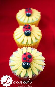 Ladybug cupcakes | Marienkäfer Cupcakes, so süß!