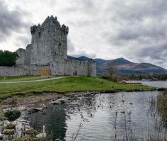 25th century Ross castle on Lough Leane Killarney National Park Photo by @aidancarroll64