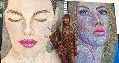 Arte en Playa del Carmen, Laura Morales art, morles artist, morales art, art gallery playa del carmen, gaston charo gallery, arte en playa calle 16, caminarte, laura morales artista. Galería de arte Playa del Carmen.