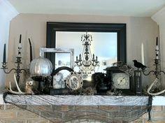 great halloween mantle