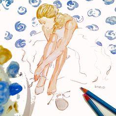 wedding illustration by beth briggs - wedding illustrator