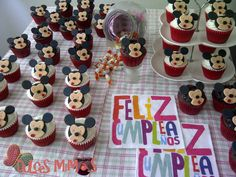 cupcakes mickey Cupcakes, Desserts, Food, Happy, Tailgate Desserts, Deserts, Cupcake, Meals, Cupcake Cakes