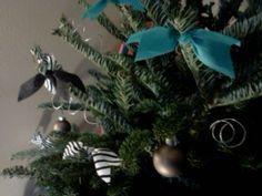 christmas tree and fabric
