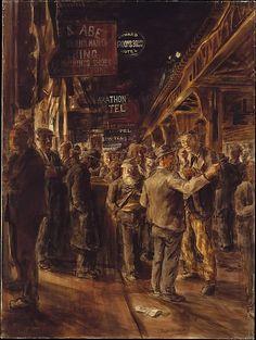 Reginald Marsh | The Bowery | The Metropolitan Museum of Art