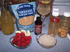 "Lea's Cooking: Water Kefir Recipe ""Elixir of Life"" Lots of good flavor ideas here!"