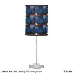 Cartoon Art Deco Lamp