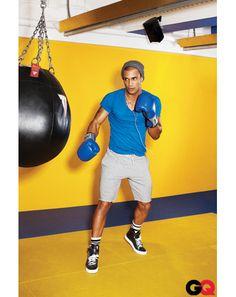Men's Gym Style, The Best Workout Clothes - GQ April 2012: Wear It Now: GQ