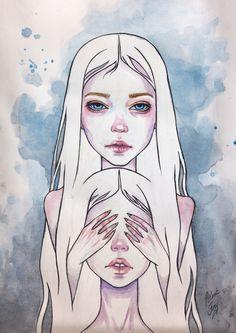 twins by BlackFurya