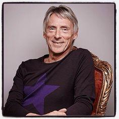 Paul Weller, love that smile!