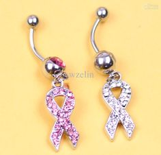 Belly Button Rings Dangle   Wholesale hot sale dangle Navel belly button ring with shining diamond ...
