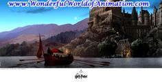 Journey to Hogwarts Other Studios giclee on canvas Animation Art giclee on canvas of --- From Other Studios