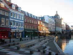 Aarhus Denmark- lost at 2am here :)