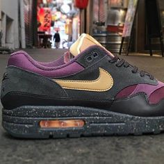 b0f63a5d5bc Nike Air Max 1 Premium Sneakers Anthracite Size 7 8 9 10 11 12 Mens Shoes