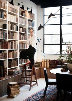 Best Commercial Interior: Kate Nixon of Studio Kate (Busatti) for Hordern House.