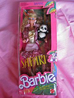 Barbie safari 1988 had her! Barbie 80s, Barbie World, Vintage Barbie Clothes, Vintage Dolls, 1980s Childhood, Childhood Memories, Barbie Family, Dollhouse Ideas, Barbie Dream House