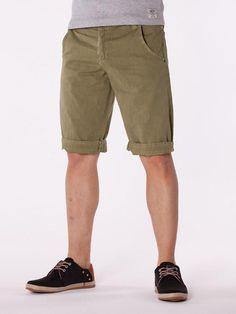 Pantaloni scurti barbati - verde petrol
