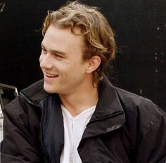 Heath Ledger I'm actually watching a show about Heath Ledger at the moment.