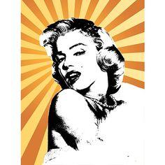 Marilyn Monroe - Pop Culture - Digital Art - Wall Art, Paintings, Canvas and Prints