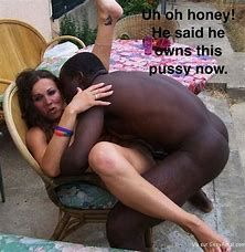Wife interracial cuckold captions pregnant