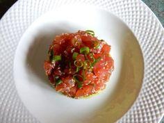 Recetas tartar casero Ripe Avocado, Ceviche, Bruschetta, A Food, Tapas, Food Processor Recipes, Brunch, Stuffed Peppers, Dishes