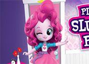 Pinkie Pie Slumber Party   juegos my little pony - jugar mi pequeño pony