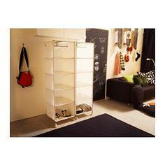Maybe toy storage with bins? IKEA PS Organizer - white - IKEA