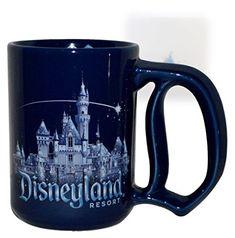 Disneyland 60th Anniversary Diamond Celebration Castle Mug @ niftywarehouse.com #NiftyWarehouse #Disney #DisneyMovies #Animated #Film #DisneyFilms #DisneyCartoons #Kids #Cartoons