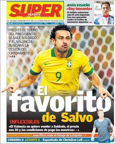 Prensa deportiva del 24 de Julio 2013