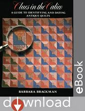 If you want to learn about quilt history, this is the place to start!!! Read it over and over and over!