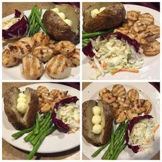 Grilled Shrimp and Scallops - seafood lovers' delight!