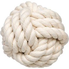 Planet Petco Knotty Rope Ball Dog Toy Another one that might be good for buster... no chewing!!
