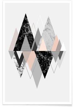Graphic 117 als Premium Poster von Mareike Böhmer | JUNIQE