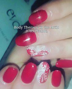 Strawberry Cream Gel Manicure   #hollidayseason #christmas #strawberrycream  ##classy&fabulous #sparkle #red #beautifulnails #nailart #nailsofinstagram #nailsagram #secretofhealthynails #nailsecret #nailart #nailledit #nails #longlasting #21dayswear #naildesign  @gel_two #showscratch