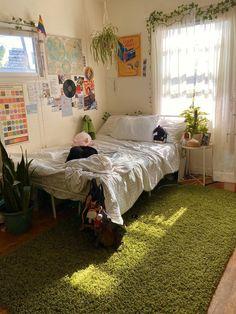 Indie Room Decor, Cute Room Decor, Aesthetic Room Decor, Aesthetic Indie, Aesthetic Vintage, Indie Dorm Room, Study Room Decor, Room Design Bedroom, Room Ideas Bedroom