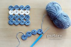 Crochet Pattern - Joy Joy Coasters