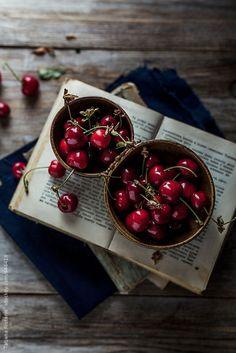 Cherries by Tatjana Ristanic   Stocksy United