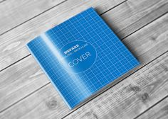 This is Square Brochure Mockups Free Download, design for standard Square size 21x21 cm. Using a smart object, very easy to use ad Free Download.