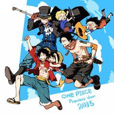 One Piece: Episode of Sabo, Bond of Three Brothers - pixiv Spotlight