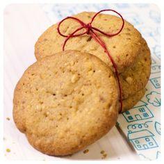 Cookies de Castanha de Cajú - Receitas de Biscoito - I COULD KILL FOR DESSERT