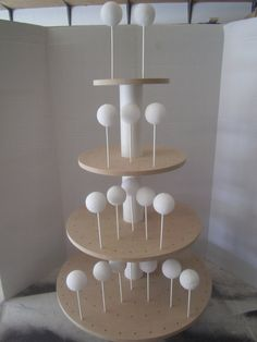 New Item  DIY Unfinished 4 Tier Round Cake by WoodworkingSolutions, $102.00