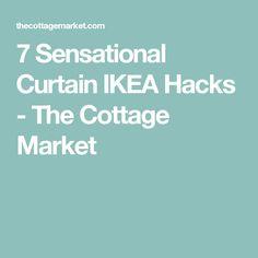 7 Sensational Curtain IKEA Hacks - The Cottage Market