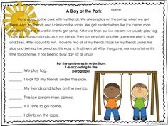 Sequence of events for 1st and second grade. 4 original stories each with 4 activities. :)