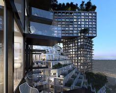 Peruri 88: MVRDV Unveils Sprawling Green-Roofed City in the Sk...