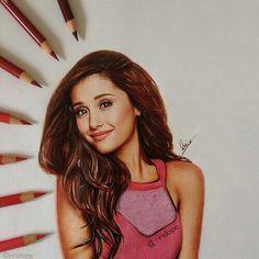 Ariana Grande drawing #realistic