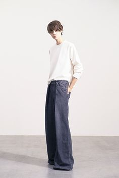 ファッション ファッション in 2020 Denim Fashion, Love Fashion, Fashion Beauty, Womens Fashion, Mein Style, Fashion Books, Minimal Fashion, Mode Inspiration, Simple Style