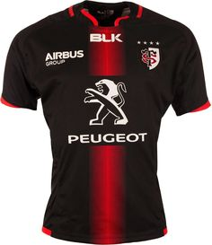 Maillot Authentique Stade Toulousain 2015/16 noir