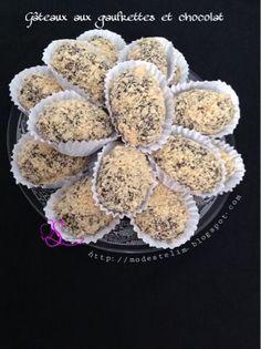 Gâteaux aux gaufrettes et chocolat Mes gateaux de l'aid cette année je voulais tester les recettes de mes amies blogueuses avec l...