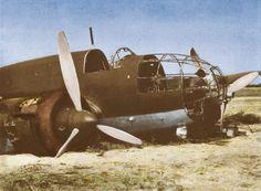 September Remains of PZL Łoś Luftwaffe, World War Ii, Wwii, Poland, Fighter Jets, Aviation, Aircraft, Wings, Military