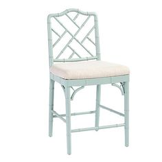 Dayna Stools, beautiful in warm gray, cream, and worn black too!